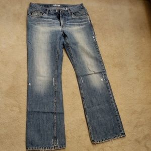 Armani Exchange distressed Jean